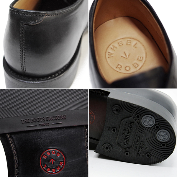 WHEEL ROBE HEAVY STITCHING MOC TOE