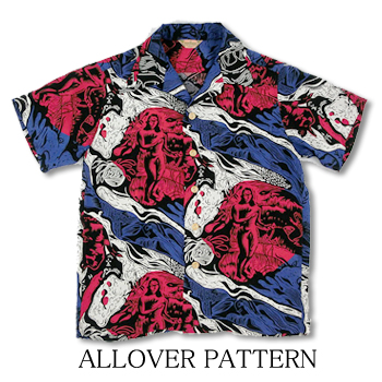 SUN SURF ALLOVER PATTERN